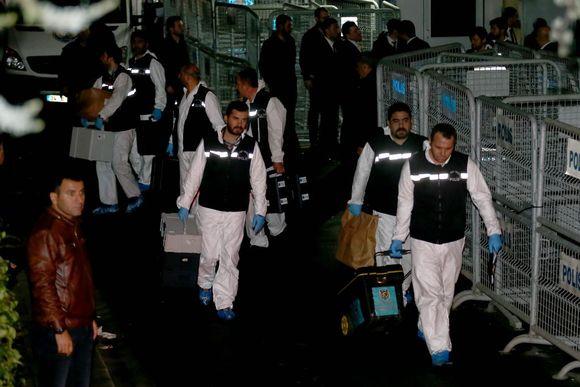 Turkkilaiset rikospaikkatutkijat