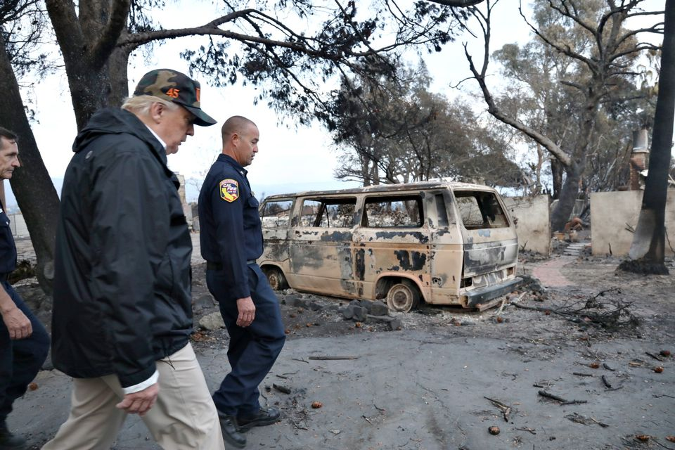 Finland baffled over Donald Trump raking comments during California wildfire visit