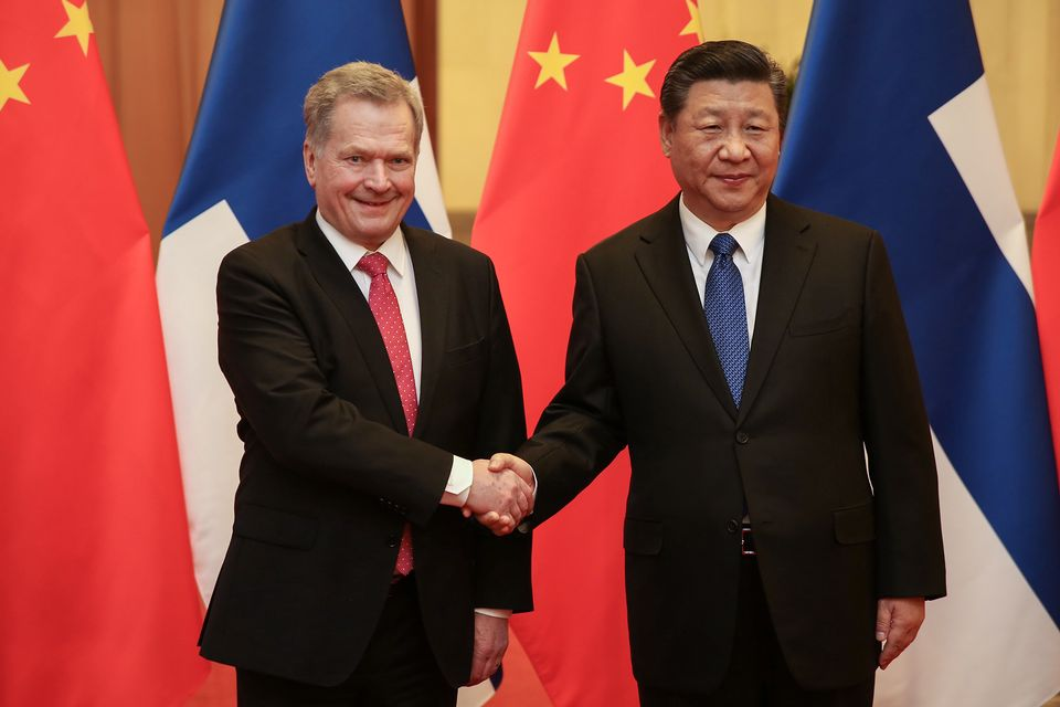 Papers on Tuesday go into police statistics on sexual assault against  minors in Finland, and President Sauli Niinistö's visit to Beijing on  Monday.