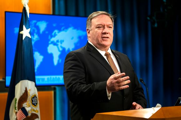 Yhdysvaltain ulkoministeri Mike Pompeo.