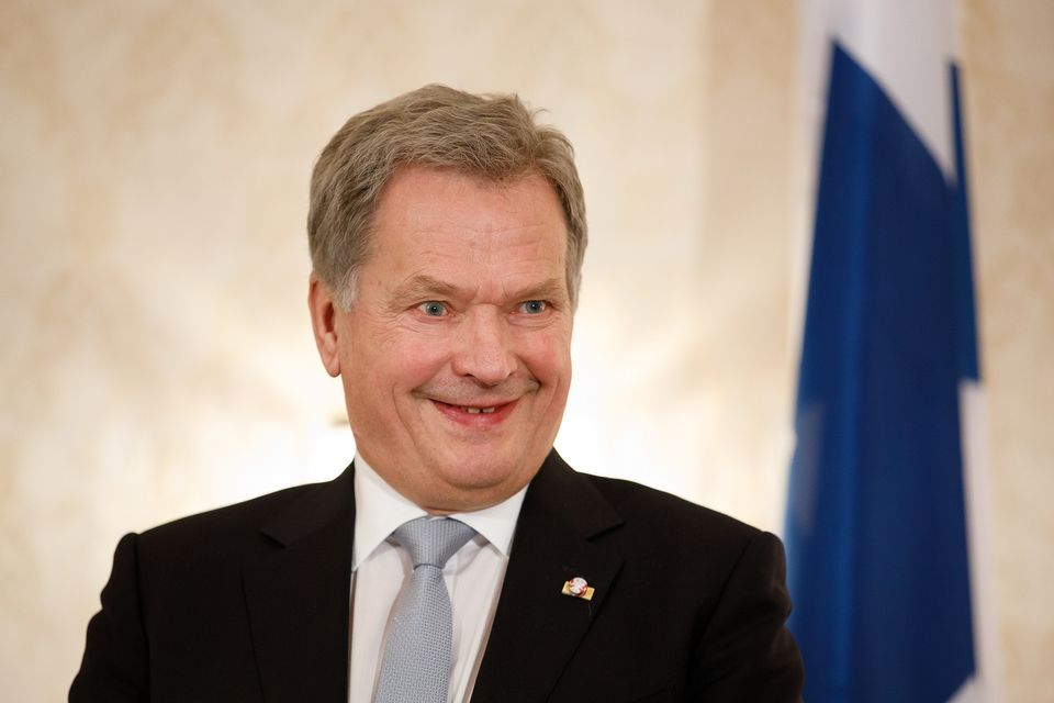 Image result for Sauli Niinistö,