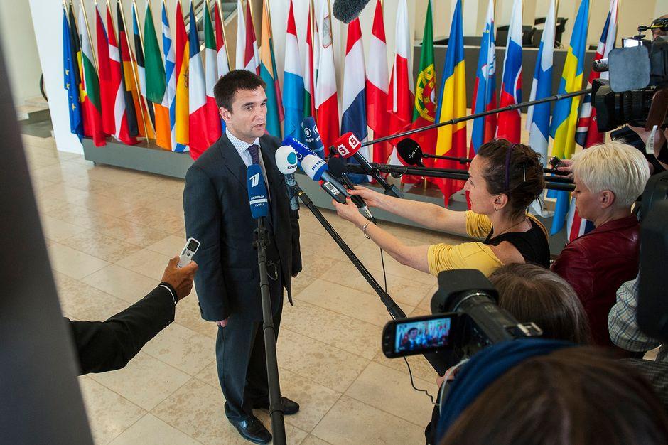 Ukrainan ulkoministeri Pavlo Klimkin
