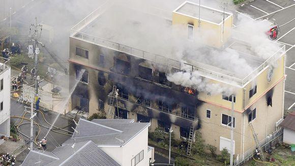 Kyoto Animation -anime-studio palaa Kiotossa.