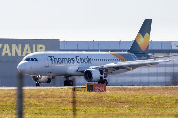 Thomas Cookin lentokone.