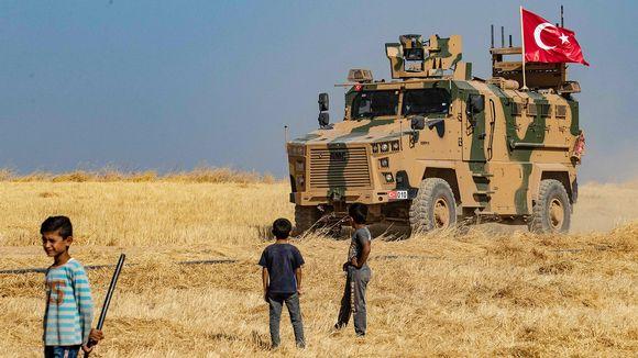 Turkin armeijan panssariajoneuvo