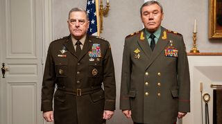 Kenraalit Mark Milley ja Valery Gerasimov.