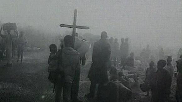 Ruandalaisia pakolaisia vuonna 1994