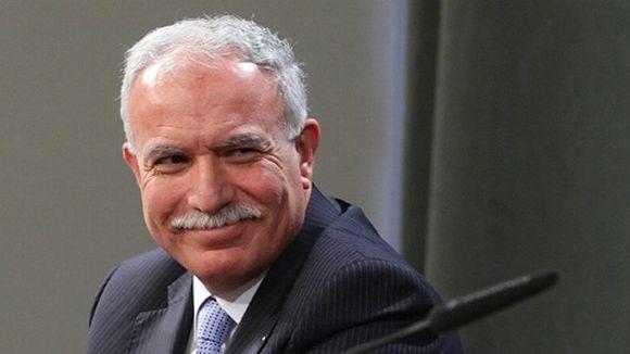 Palestiinalaisten ulkoministeri Riad Al-Malki