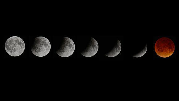 Video: Kuuvakoosteessa kuunpimennys.
