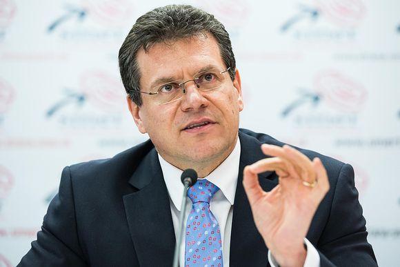 Slovakian komissaariehdokas Maroš Šefčovič.