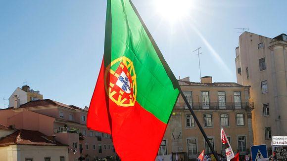 Portugalin lippu.