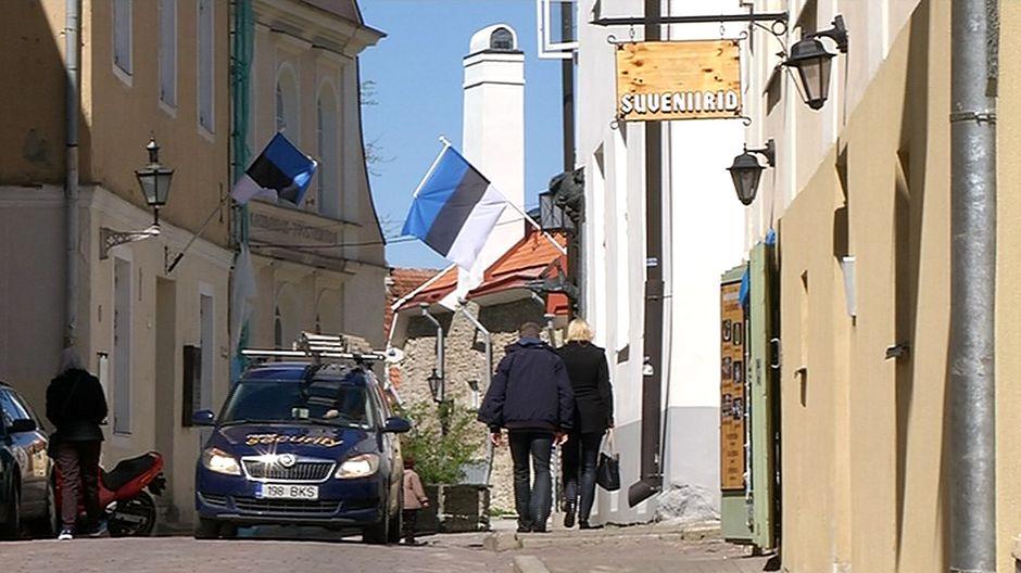 Katukuvaa Tallinnasta
