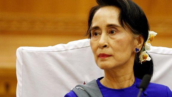 Видео: Aung San Suu Kyi