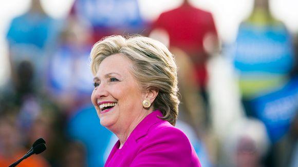 Hillary Clinton kampanjoi Pohjois-Carolinan Wintervillessä.