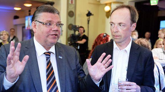 Timo Soini ja Jussi Halla-aho.