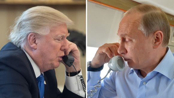 Donald Trump ja Vladimir Putin