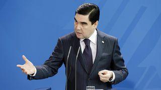 Turkmenistanin presidentti Kurbanguly Berdymuhamedov.