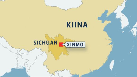 Kiinan kartta.