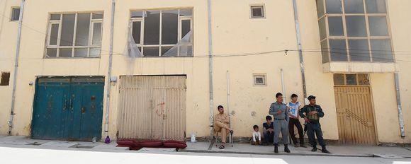 Kabulissa sijaitseva kansainvälinen vierasmaja, johon hyökättiin 20. toukokuuta. Suomalaisnainen siepattiin, saksalainen nainen ja paikallinen vartija tapettiin.
