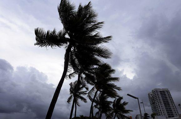 Puerto Rico Hurrikaani Irma.