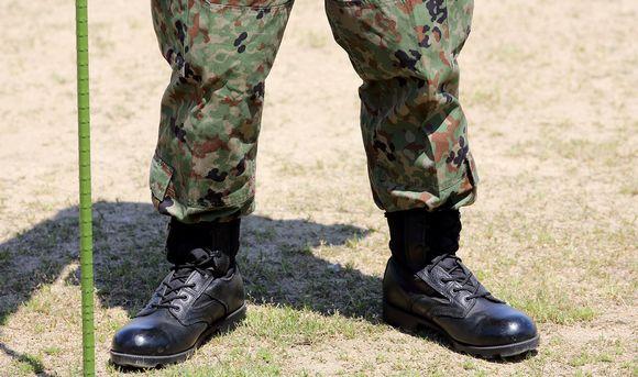 sotilaan saappaat