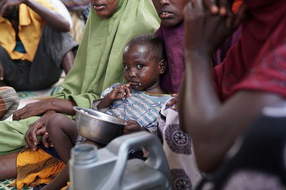 Pakolainen Mogadishussa