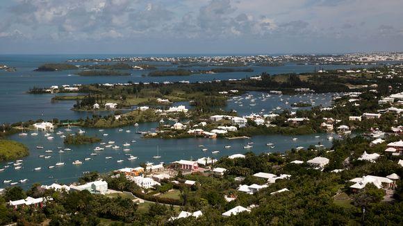 Maisemakuva Bermudalta.
