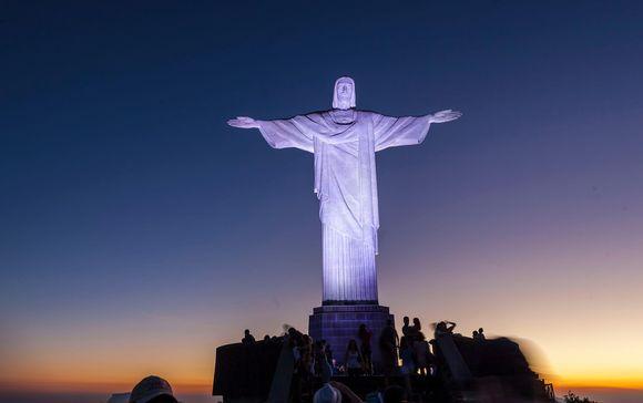 Kristus-patsas Rio de Janeirossa.