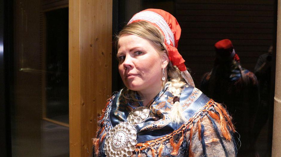 Saamelaiskäräjien jäsen Petra Magga-Vars