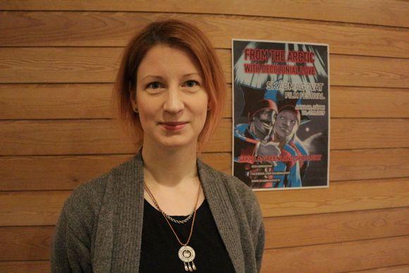 Jietna: Skábmagovat -filbmafestivála veahkkebuvttadeaddji Minna Lipponen