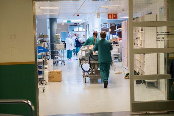 Meilahden sairaalan leikkausosasto 2018