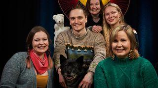 Video: Yle Sápmin lasten-tv Unna Junnán työryhmä 2019