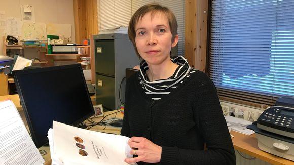 Inarin metsänhoitoyhdistyksen toiminnanjohtaja Anna-Kaisa Heikkonen