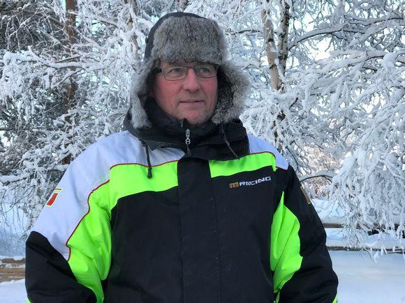 Hammastunturin paliskunnan poroisäntä Jarmo Haataja