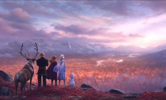 Disneyn Frozen 2 video sijoittuu syksyiseen Saamenmaalle.