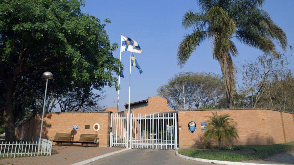 Suomen ja Ruotsin suurlähetystö Sambian pääkaupungissa Lusakassa.