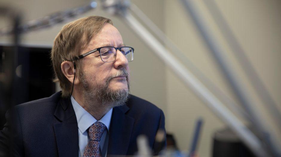 Viron suurlähettiläs Harri Tiido.