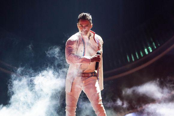 Jon-Henrik Fjällgren Melodifestivalenin finaalissa 2019