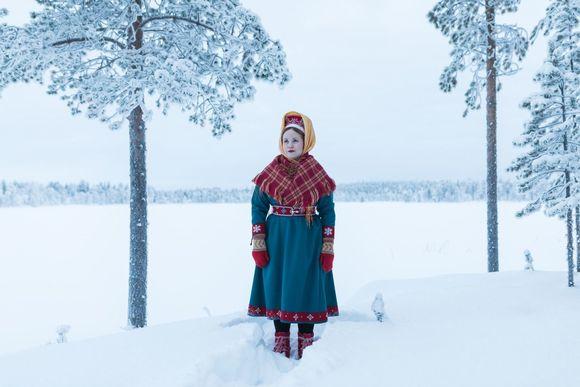 Anna Lumikivi osallistuu vuoden 2019 Sámi Grand Prix -musiikkikilpailun lauluosioon.