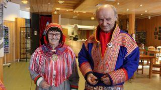 Inkermarja Hetta ja Antti Oula Juuso