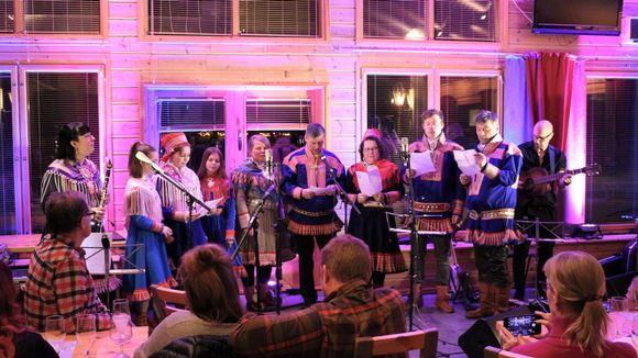 Máttut - Jávrrešduoddara luođit -konsertti Hetassa
