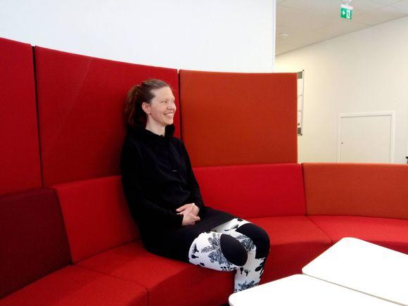 Laura Olsen on opiskellut vuoden koltansaamea.