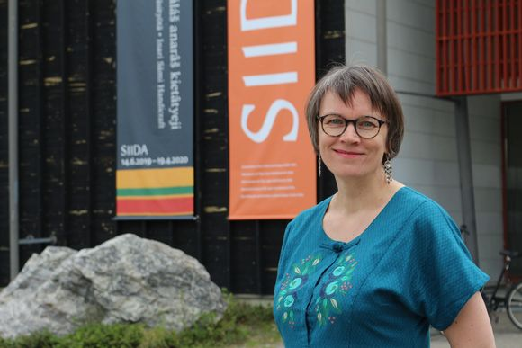 Saamelaismusea Siidan museonjohtaja Sari Valkonen