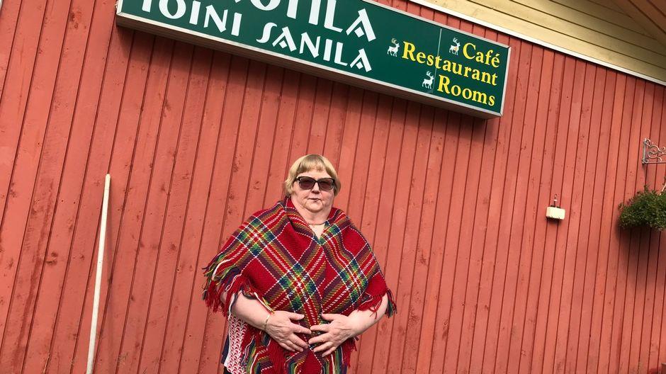 Matkailuyrittäjä Toini Sanila.