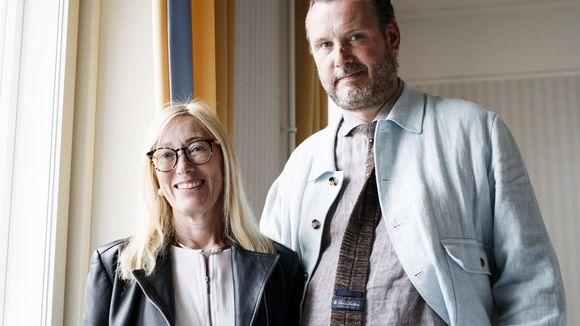 Moomin Charactersin taiteellinen johtaja Sophia Jansson ja toimitusjohtaja Roleff Kråkström uskovat, että muumit voivat innostaa ihmisiä Itämeren suojeluun.