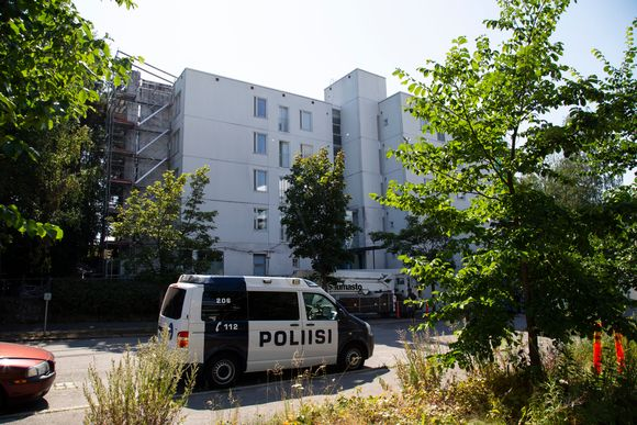 Talo jossa Käpylän ampuminen tapahtui