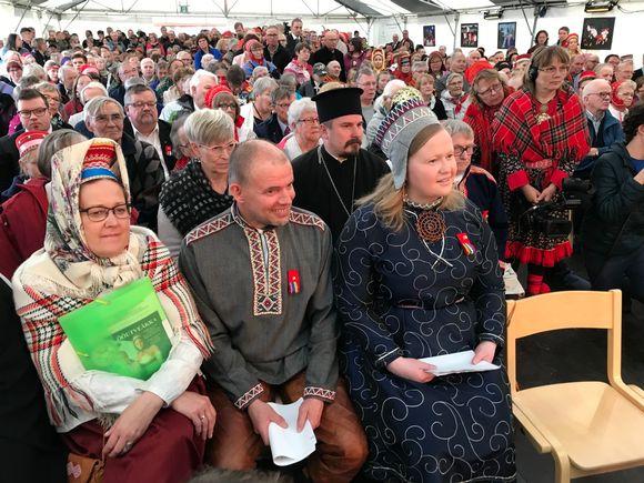 Kolttasaamelaisten asuttamisjuhla 24.8.2019.