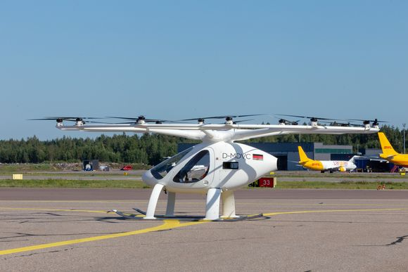 Watch: Electric air taxi prototype takes flight in Finland