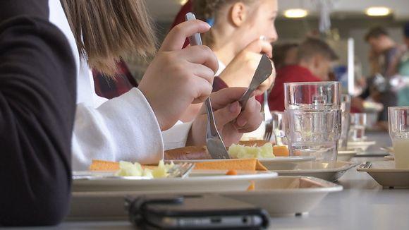 Inarin koulussa maistuu kouluruoka