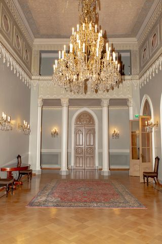 presidentin linnan sisäkuva